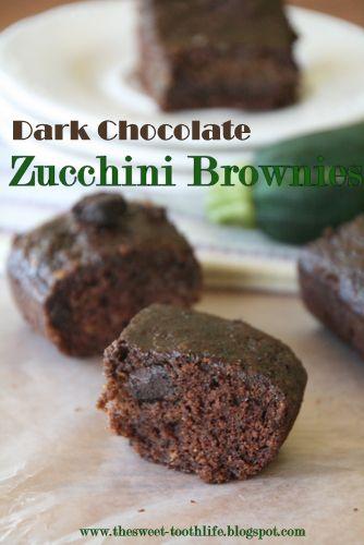 Chocolate zucchini brownies, Zucchini brownies and Chocolate muffins ...