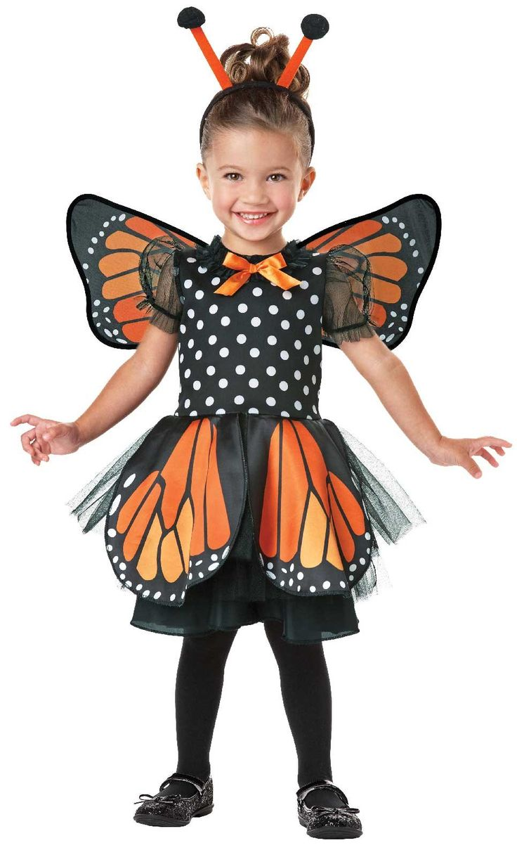 Monarch Butterfly Infant/Toddler Costume from Buycostumes.com