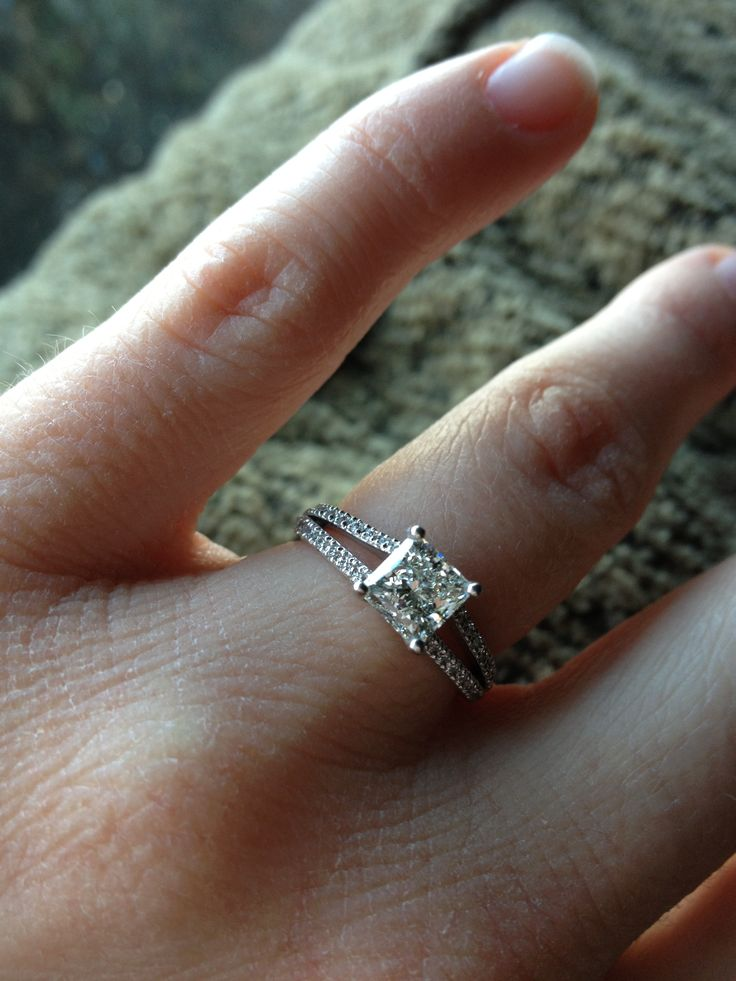 Wedding Bands For Cushion Cut Rings 84 Cute Ritani emerald cut engagement