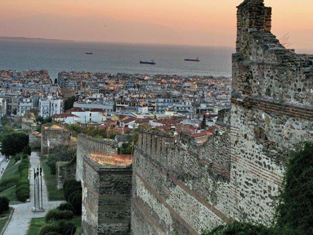 Thessaloniki , Byzantine fortification