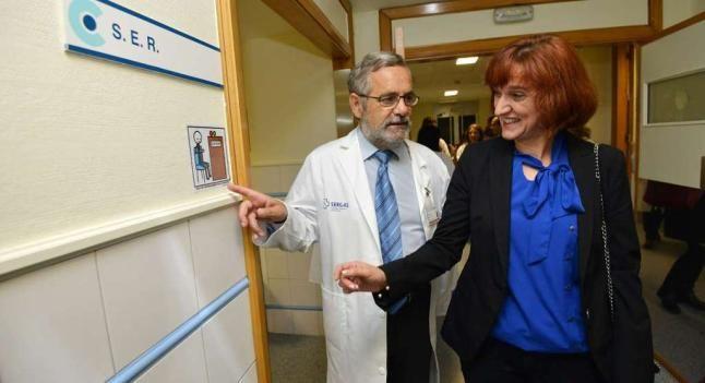 El Provincial se convierte en pionero al instalar 145 pictogramas que facilitan la información a pacientes con anomalías de percepción
