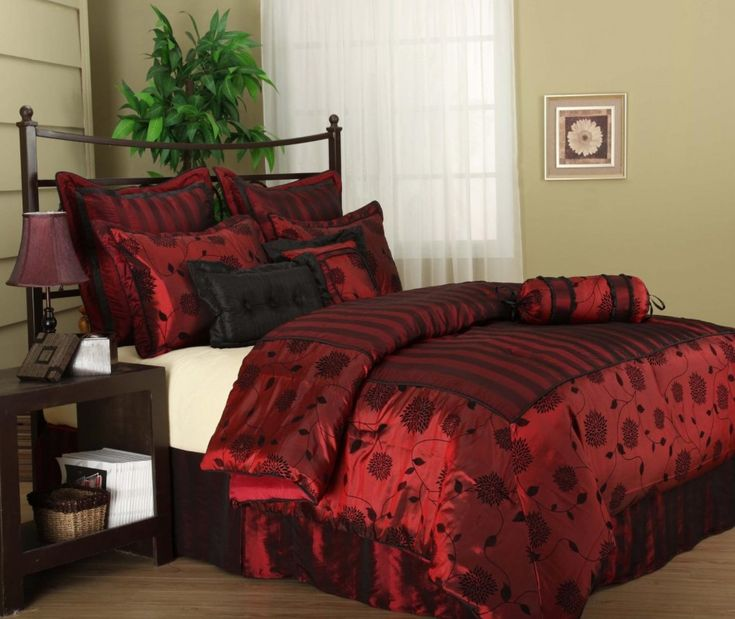this deep red is perfect for valentines day via decorationrcom