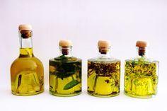 El huerto casero de Ana: Aceites aromatizados