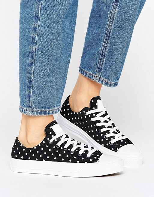 Converse CT Plimsol All Star OX Mujer's Casual Retro Fashion Plimsol CT Trainers Plata 436dce