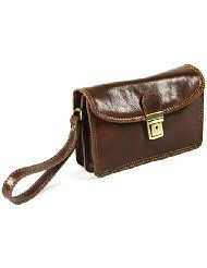 Luxury Man Bag, Organiser, Travel Wallet, Clutch with buckle £74.99@amazon #madeInItaly