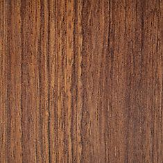 14mm Thick Burnished Brazilian Cherry Laminate Flooring (Sample)
