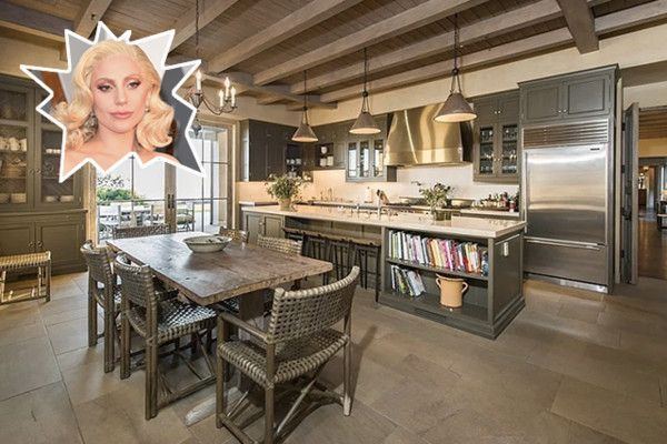 Lady Gaga - The Best Celebrity Kitchens Ever - Photos