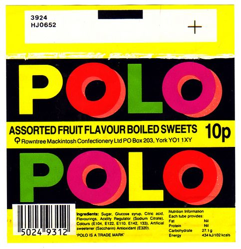 Rowntree's Fruit Polos
