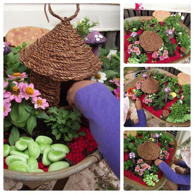 Fairy Garden Ideas For Small Spaces 198 best fairy play images on pinterest | fairies garden, fairy