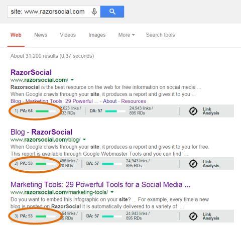 #google site command data