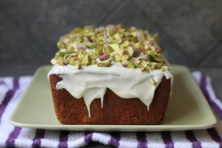 pistachio poundcake