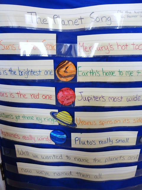 Create songs and rhymes for each unit so students will attain knowledge and key words better.