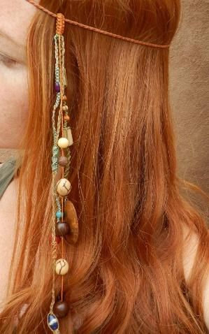 Hippie Headband, had to pin because my kids think we used to be hippies. lol by helena
