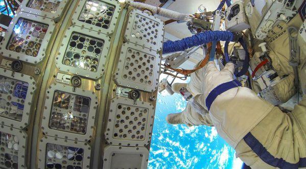 Vzorky rias na ISS