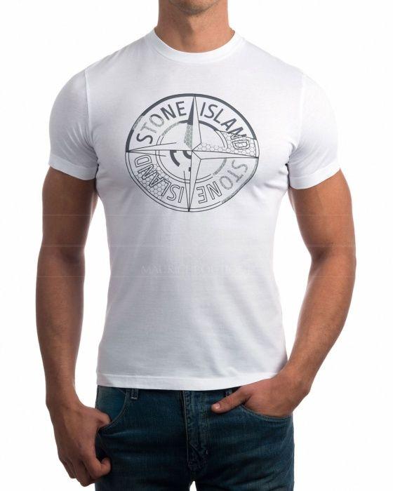 Camisetas Stone Island - Blanco