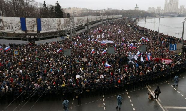 Boris Nemtsov march
