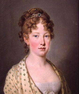Leopoldina of Austria, Empress Consort of Brazil, 1815 (Joseph Kreutzinger) (1757-1829) Schloss Schönbrunn, Wien