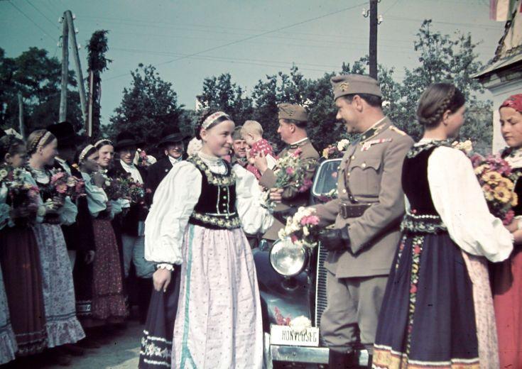 1940 Erdély.
