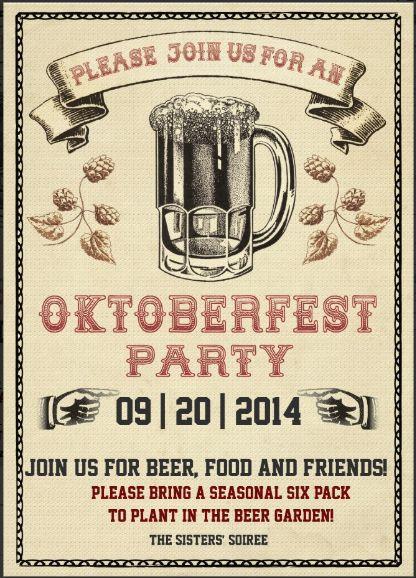 Oktoberfest Invite                                                       …