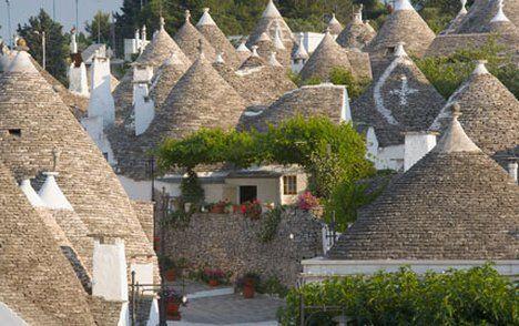 Puglia...I trulli di Alberobello