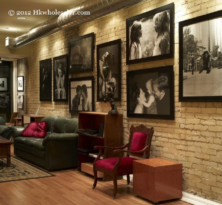 Wonderful, Dramatic Family Picture Wall With Oversized Family Photos    Oversized Photos Have Always Been My Style