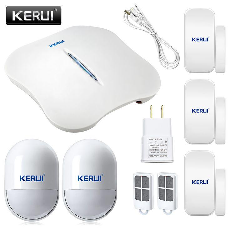 Kerui w1 wifi pstn sistema de alarma antirrobo + más conveniente portable home sistema de alarma + gran diseño para un mejor pagos de la seguridad de vida