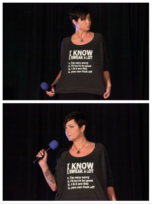 #HoustonCon2015 Kim Rhodes - I think she is my Spirit Animal.