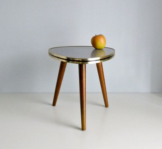 Best Midcentury Modern Tripod End Table Images On Pinterest - Midcentury modern side table