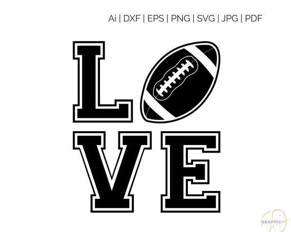 34+ Football Love Svg SVG
