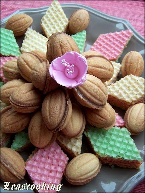 "Walnut Cookies Recipe ""Oreshki"""
