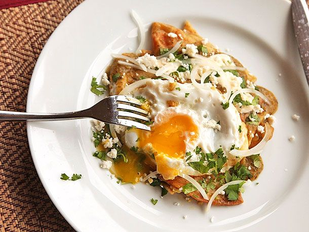 Chilaquiles Verdes with Fried Eggs | Serious Eats : Recipes