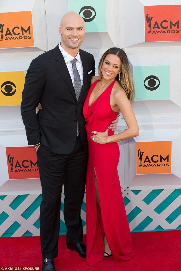 Soon-to-be ex-husband No. 3: Jana shares Jolie Rae with Mike Caussin, seen at the Academy Of Country Music Awards at the MGM Grand Garden Arena in Las Vegas on April 3