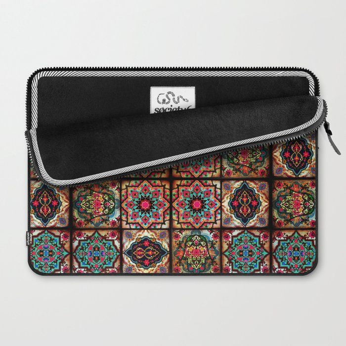 N3 Epic Vintage Original Moroccan Artwork Laptop Sleeve Laptop Sleeves Vintage Shop Art Prints