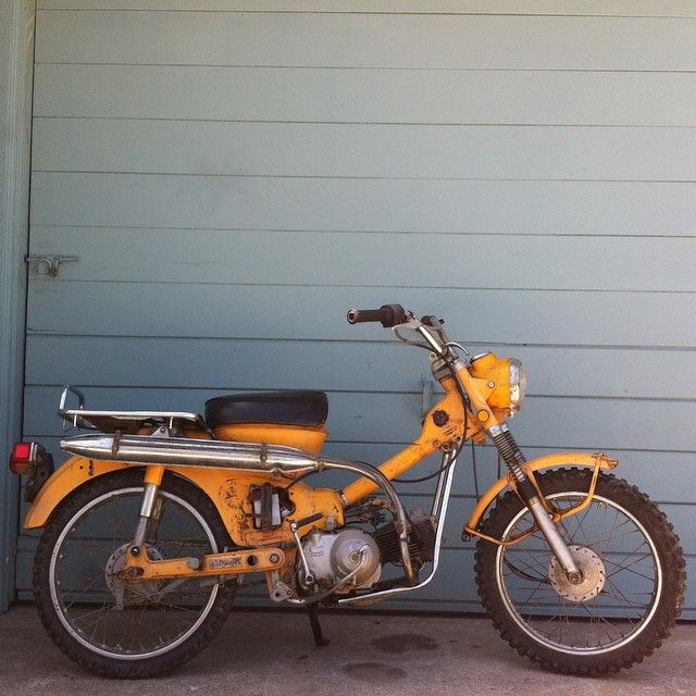 does any one want a cheap summer adventure bike 1971 honda trail 90 rh pinterest com
