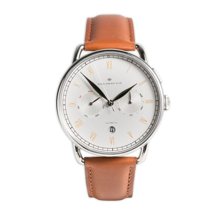 BAKEWELL - SILVER EDITION (Brown Strap)