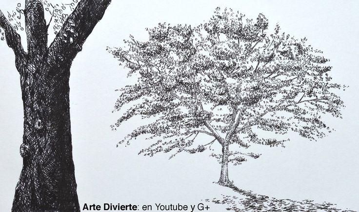 Cómo Dibujar Un árbol Con Marcadores