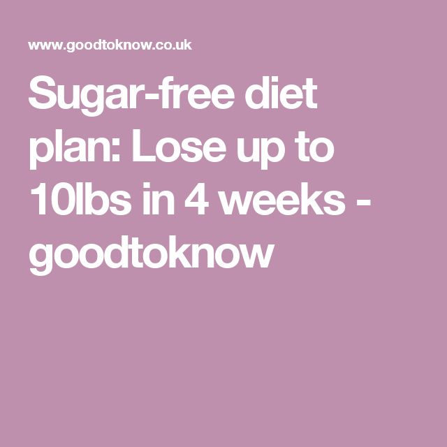 Sugar-free diet plan: Lose up to 10lbs in 4 weeks - goodtoknow http://www.4myprosperity.com/?page_id=39