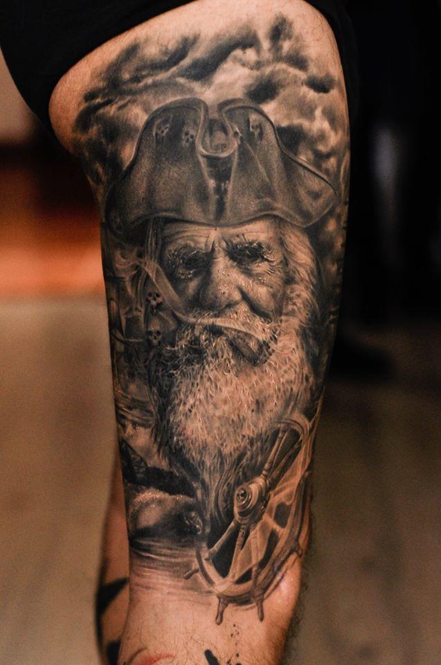 Realistic Tattooing by Guest Artist Alex Calgari