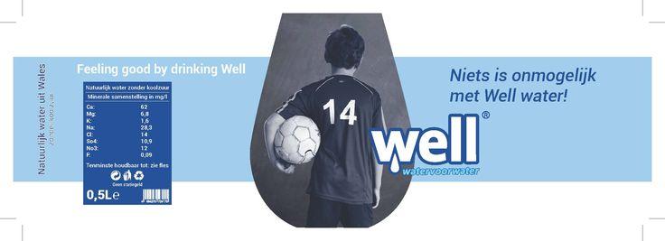 Ontwerp nieuw etiket Well Water