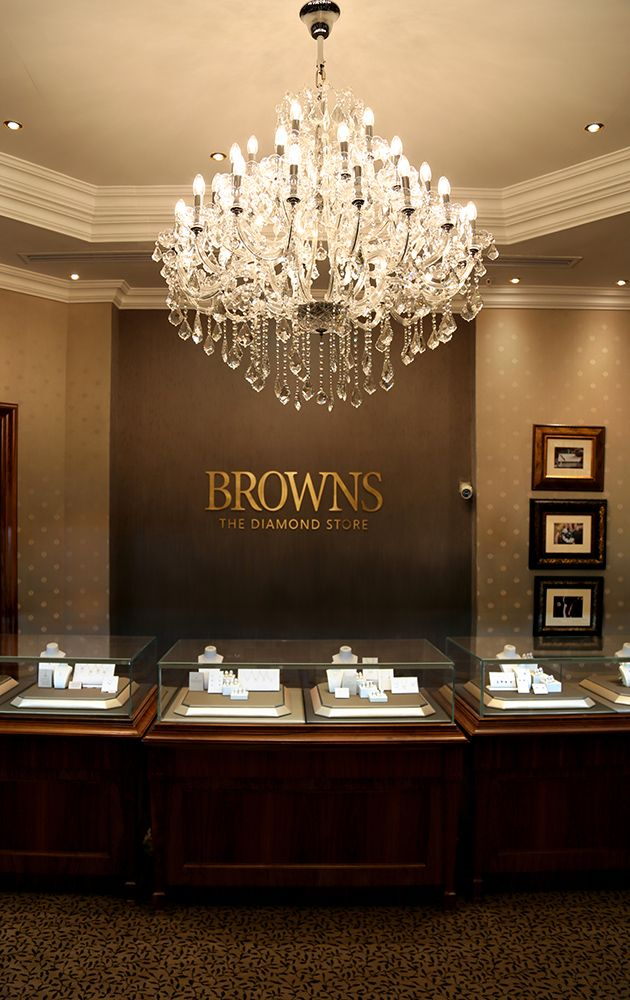 Browns is Back!  We invite you to join us for a glass of champagne to celebrate the re-opening of our #RosebankMall store.
