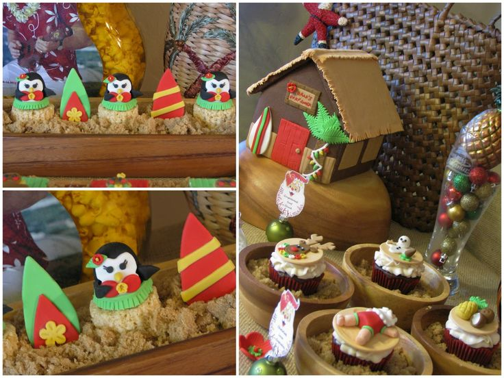 Mele Kalikimaka Christmas Birthday Party! - Hawaiian Party! - Kara's Party Ideas…