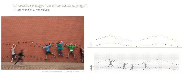 Muro para trepar #bdu #playground #parquesinfantiles #barcelona #children #niños #wall #climb