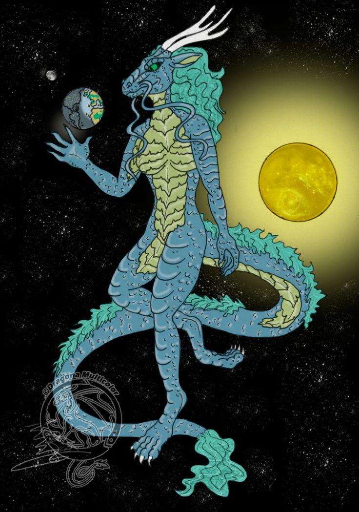 Universo, dragon, universe