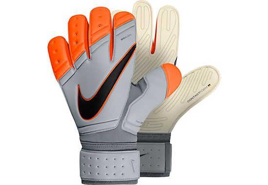 Nike Premier SGT Goalkeeper Gloves - White and Total Orange