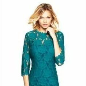 For sale!  I just added this to my closet on Poshmark: Ivanka Trump Lace Dress. Price: $65 Size: 2  https://poshmark.com/closet/amysilbergeld