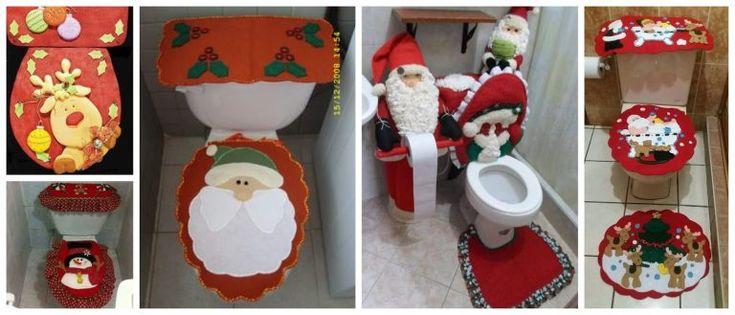 Aprende a hacer juegos de baños navideños paso a paso