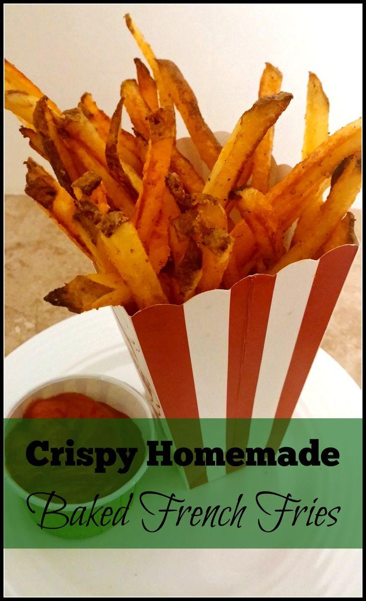 Crispy Homemade Bake French Fries