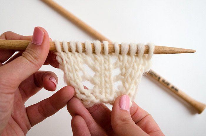Cómo hacer aumentos simétricos en tus prendas de punto | The Blog