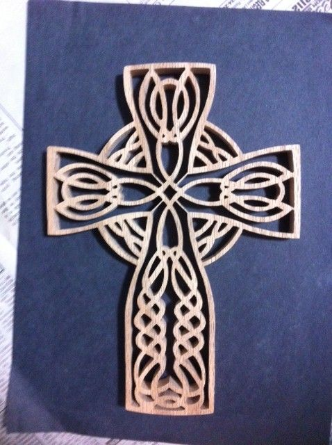 free celtic cross scroll saw patterns woodworking projects plans