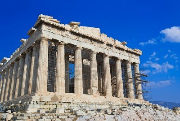 Parthenon Temple In Acropolis At Athens, Greece - Travel Background Royalty Free Stock Photo, Pictures, Images And Stock Photography. Image 16083823.